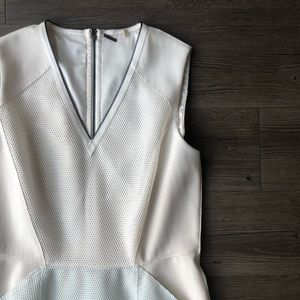 Elie Tahari Dresses - Elie Tahari | Blue Kemper Ombre Mesh Dress